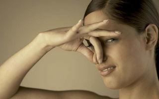Причины запаха при, перед и после месячных