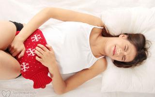 Болезненные ощущения в животе перед менструацией